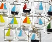 Fused Glass Sailboats