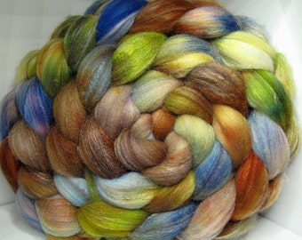 Merino/SW Merino/Tussah 40/40/20 Roving Combed Top - 5oz - Cripple Creek 5