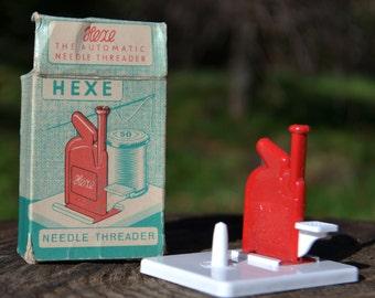 Hexe Automatic Needle Threader with Needles