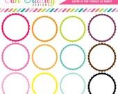Digital Scrapbooking Frames Clipart Clip Art Personal & Commercial Use