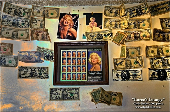 Marilyn Monroe, DOUBLE BILLED, Clyde Keller Photo, Fine Art Print, Manipulated Color and Black and White image, Signed
