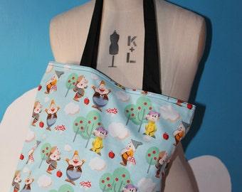 disneys seven dwarves - tote bag