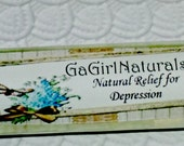 Natural Relief for Depression, Aromatherapy, Vegan, Organic, Roll On