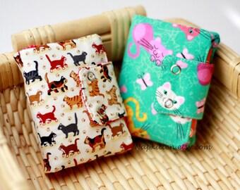 Wallet, Fabric wallet, Bi-fold wallet, Trifold wallet, tri fold wallet, handmade fabric wallet,handmade wallet,coin purse by Napkitten