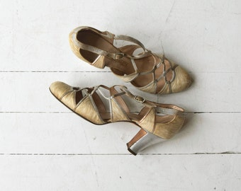 Villa Lazzari heels | vintage 1930s shoes | 1930s wedding shoes