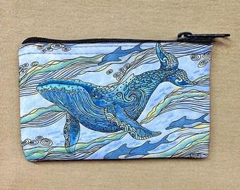 Whale Watch Coin Bag