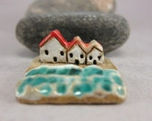 MyLand -  Three Days by the Sea - Collectible 3x3 cm or 1.2x1.2 in. puzzle in stoneware