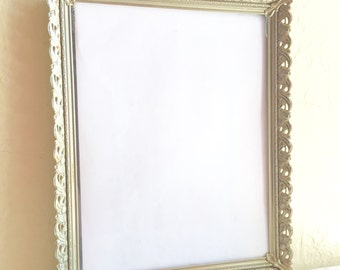 Beautiful Vintage Gold Metal Filigree Picture Frames 8x10