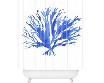 Sea Coral Shower Curtain