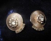 Vintage Sarah Coventry Clip on Earrings with Faux Pearls
