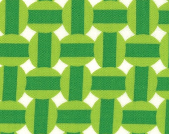 Eat Your Fruits and Veggies 1 & 1/2 Yard Remnant 43004-23 Green