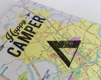 Happy Camper Map Journal