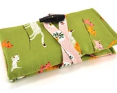 Interchangeable Knitting Needle Organizer - Tiger Lily