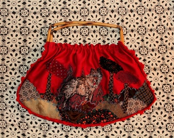 here's looking at you kid, little red riding hood bag .