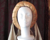 Ren Faire, Medieval Ladies Headpiece Hand Made costume