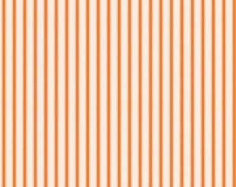 COUPON CODE SALE - End of Bolt - Happy Haunting, Stripe, Orange, Deena Rutter, Riley Blake Designs, 100% Cotton Quilt Fabric, Halloween