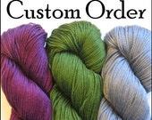 Custom order for Linda: Simple White Kufi Hat