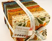 ON SALE Perfectly Seasoned Fat Quarter Fabric Bundle - Moda - Sandy Gervais - 1 panel & 38 FQ