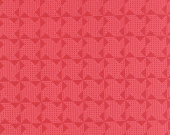 SUMMER SALE - Gooseberry - 1 yard - Pinwheels in Pink - 5014 13 - by Lella Boutique for Moda Fabrics