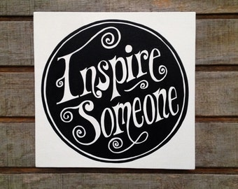 Inspire Someone painting