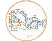 East Coast Embroidery Kit Series - New York City's Cyclone
