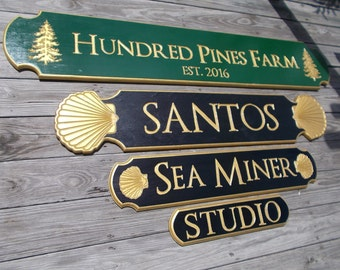 Quarterboard signs ~ Nautical signs ~ Cottage signs ~ Reproduction signs ~ Vintage signs ~ Distressed signs.