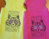 Check Meowt - Sphynx Cat Clothes TANK