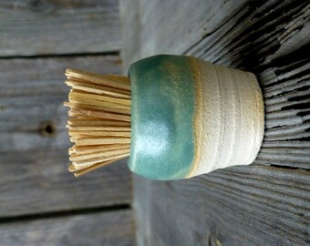 Ceramic Farmhouse Toothpick Holder