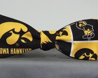 Iowa Hawkeyes  Bow Tie