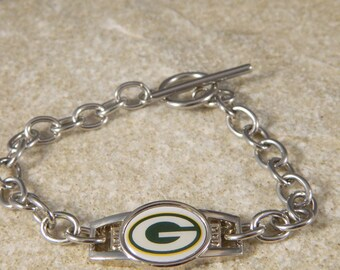 Green Bay Packer Shoe Charm Bracelet