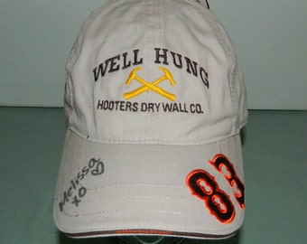Trucker Cap Hooters Official Well Hung Hooters Drywall Company 83 Lakewood CO