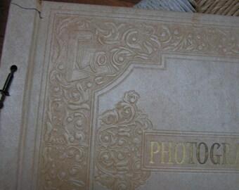 "Vintage 11 1/2"" x 15 1/4"" Photo Album/Scrap book"
