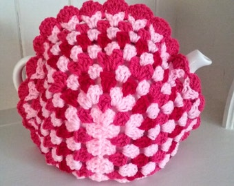 Teapot Cosy Granny Square to fit a Large Teapot