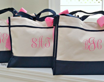 Personalized Bridesmaid, Totes Bridemaid Gift, totes Wedding day