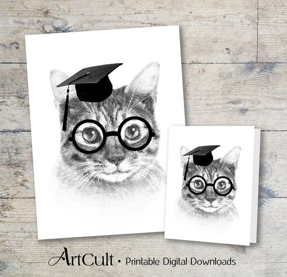 educated cat - photo #8