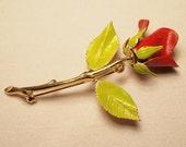 Red Rose Pin 1