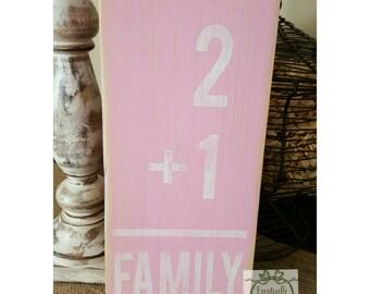 Pink Nursery Wall Decor, Girls Nursery, Flashcard Sign, Shabby Chic Nursery, Rustic Girl Nursery, Baby Gift, Baby Girl, Rustic Wall Decor
