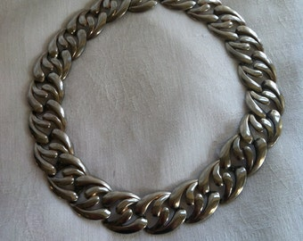 Vintage Splashing Links Necklace from Barneche/ Stephanie Barnes