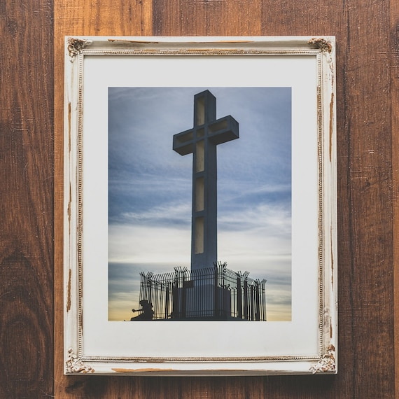 Cross Wall Art Christian Home Decor For Living Room