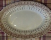 Vintage JOHN MADDOCK & SONS Oval vegetable Serving bowl dish royal vitreous