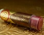 Venomous TRUFFLE STIX  a.k.a. Sedona Seduction organic edible chocolate lip & body balm