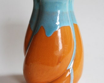 Vintage Pottery Vase, Made in Japan