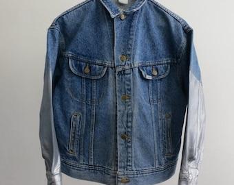 35% OFF SUMMER SALE The Silver Sleeve Lee Denim Jacket