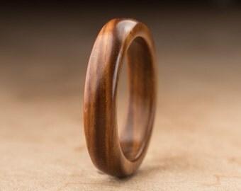 Size 9.75 - Guayacan Wood Ring No. 353