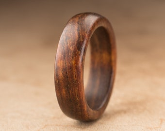Size 7 - Tamboti Wood Ring No. 260