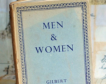 The Basis for Marriage is Not Sexuality but CONTRACT. 1948, Men & Women, Russell, antique book, 2018