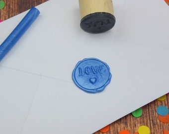 Handmade Love Wax Seal Stamp