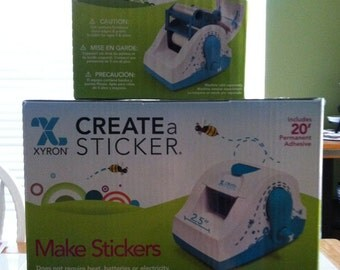 Xyron Create a Sticker 250 2.5 inch Maker - AND - Refill Cartridge