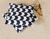 Lavender Sachets, Black White Monochrome Arrows, Modern Bedroom Decor