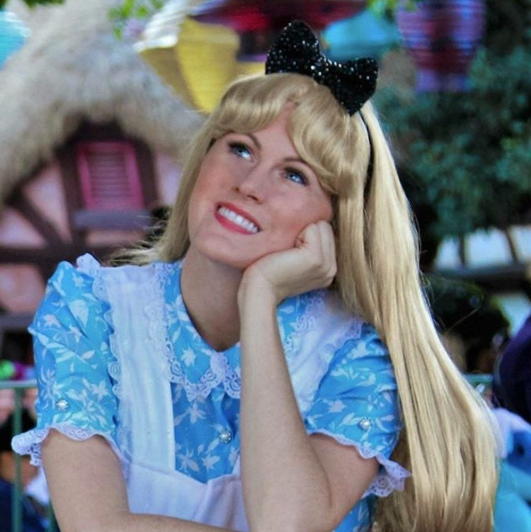 Alice In Wonderland Costume Wig 116
